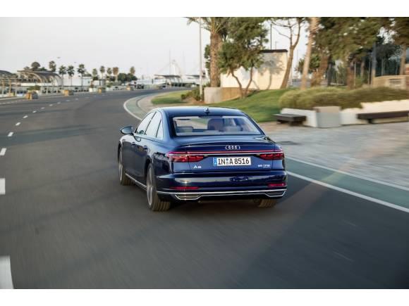 Prueba nuevo Audi A8, tecnológicamente superior