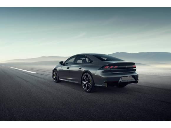 Concept 508 Peugeot Sport Engineered: la berlina deportiva futurista