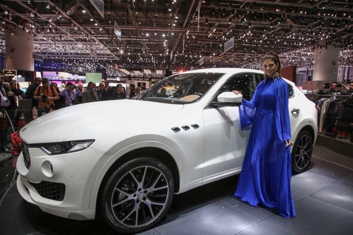 Maserati Levante El Primer Suv De La Marca Del Tridente