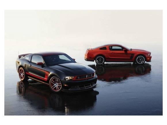 Vídeo: Ford Mustang Boss en acción