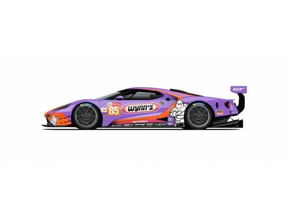 Los colores míticos de los Ford GT de Le Mans 2019