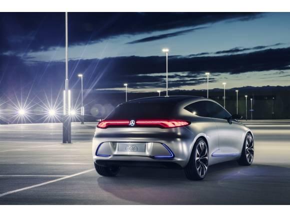 Mercedes Concept EQA: así será el futuro coche eléctrico compacto de Mercedes