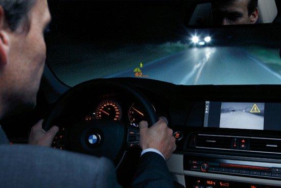 Head-up display BMW Serie 5