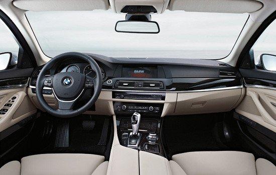 Puesto de conducción BMW Serie 5