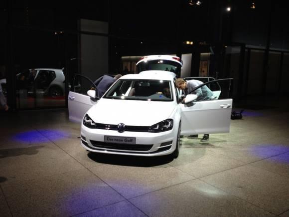 Presentación nuevo Volkswagen Golf VII en Berlín