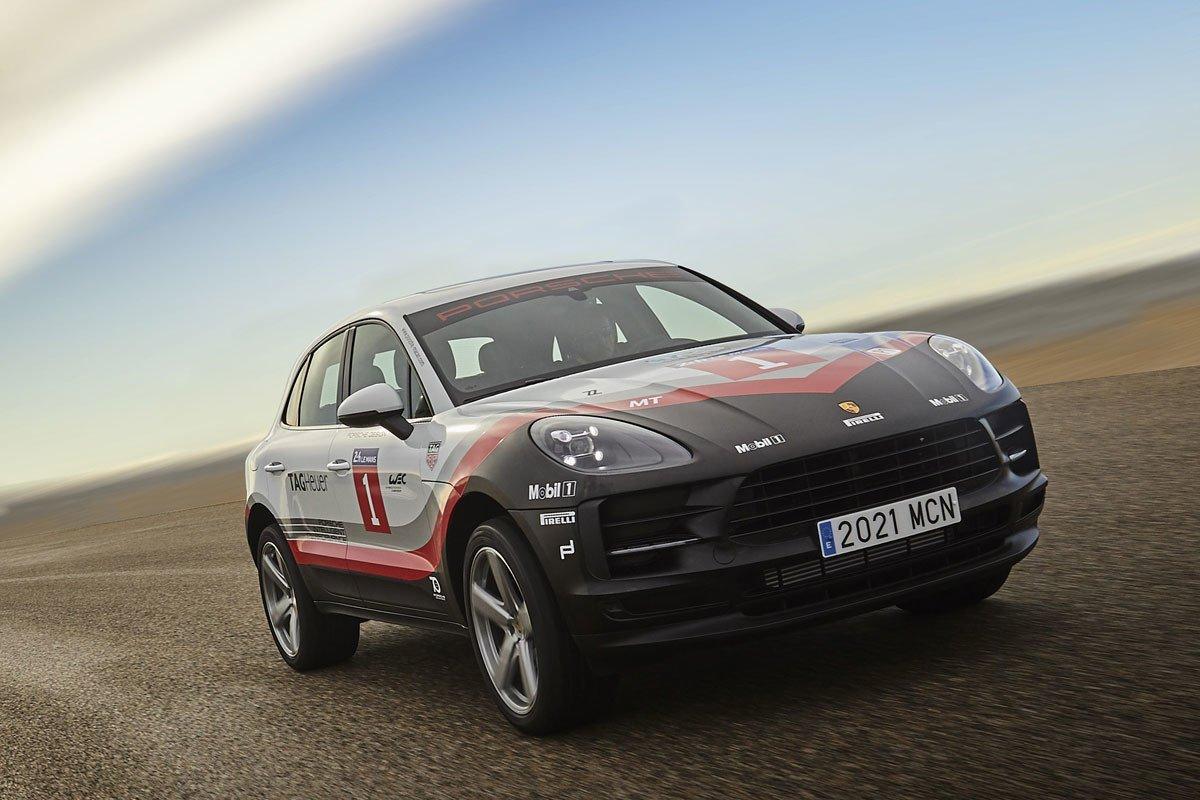 Porsche Macan Tribute