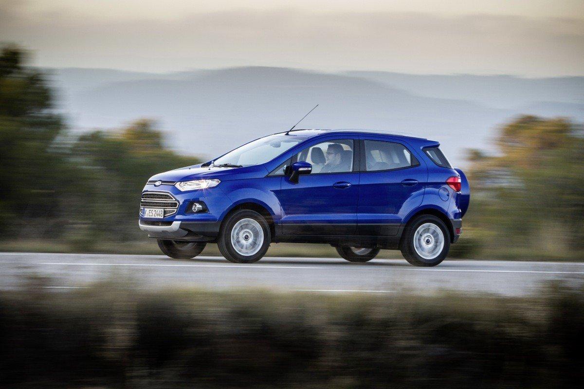 Prueba Ford Ecosport Disponible En Abril Por 17 500