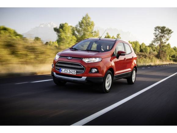 Prueba: Ford EcoSport, disponible en abril por 17.500 €