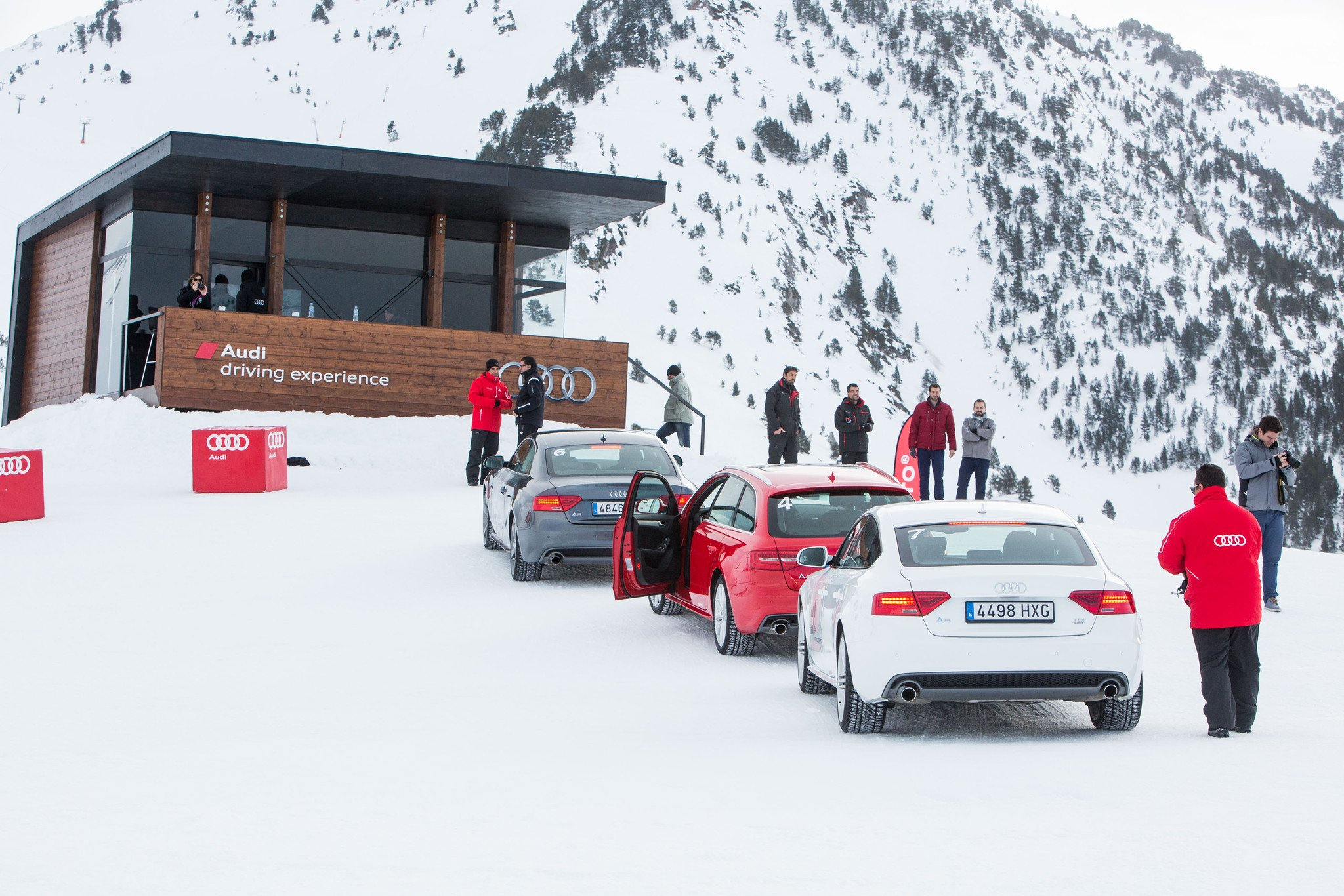 Audi Winter Driving Experience