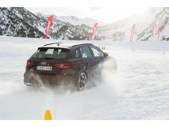 Audi Winter Driving Experience: Cursos de conducción segura en hielo y nieve