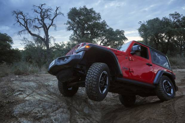 Prueba Jeep Wrangler Rubicon 2019, imparable