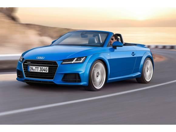 Audi presenta un nuevo motor para los TT Coupé y TT Roadster