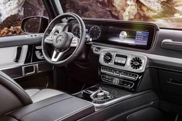 Nuevo Mercedes G 2018, así será el interior