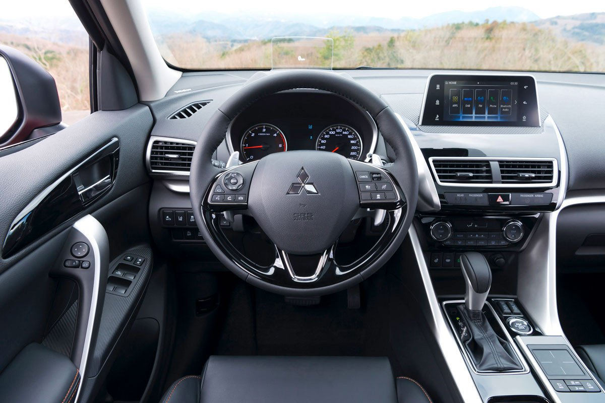 Interior Mitsubishi Eclipse Cross