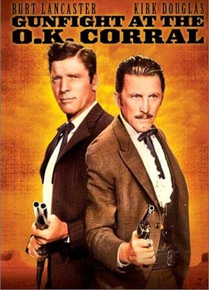 Burt Lancaster y Kirk Douglas en Duelo de Titanes, un clásico de los western americanos