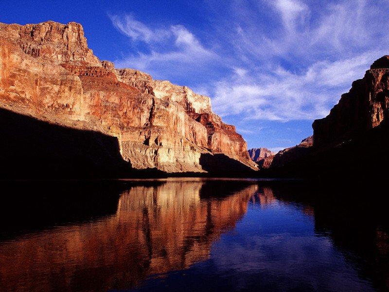 El Gran Cañon del Colorado, uno de los paisajes más impresionantes de la naturaleza