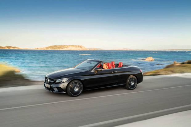 Llegan las actualizaciones del Mercedes Clase C Coupé y Cabriolet