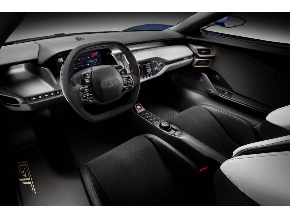 Ford GT: el nuevo superdeportivo de Ford se presenta en Detroit