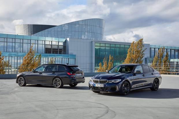 BMW Serie 3: llega la motorización M340i para sedan y touring