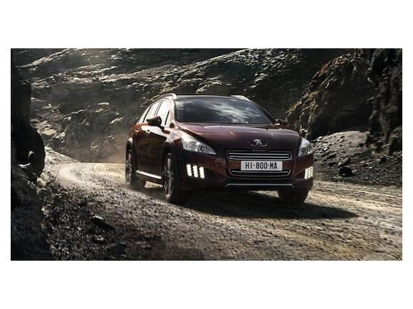 "Peugeot 508 RXH: el ""Allroad"" de Peugeot, híbrido con motor diesel"