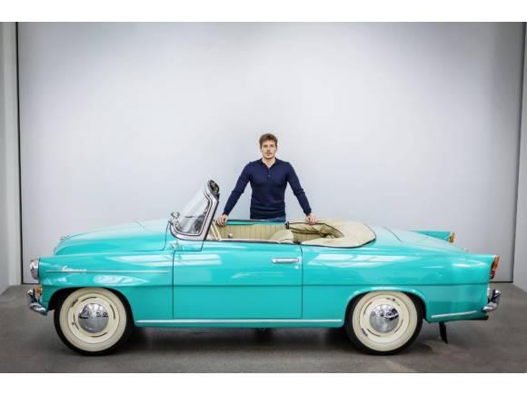 Skoda Felicia cabriolet: un precioso prototipo con aires del pasado