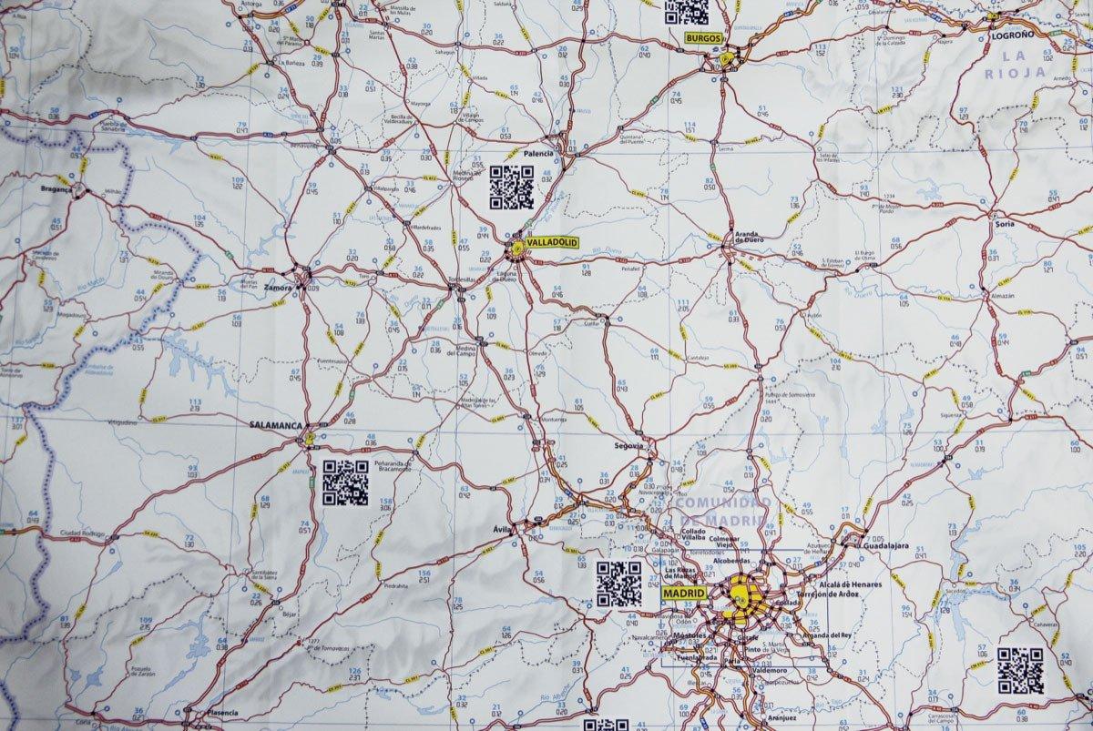 mapa michelin via Michelin Mapa España Tráfico, fusionando el papel y tu Smartphone mapa michelin via