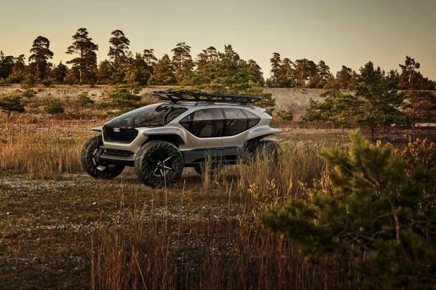 Audi AI:TRAIL quattro: un 4x4 con motor eléctrico