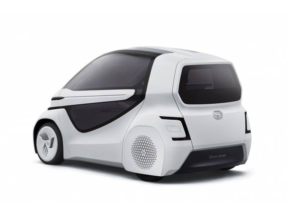 Concept-i: la  movilidad eléctrica del futuro según Toyota