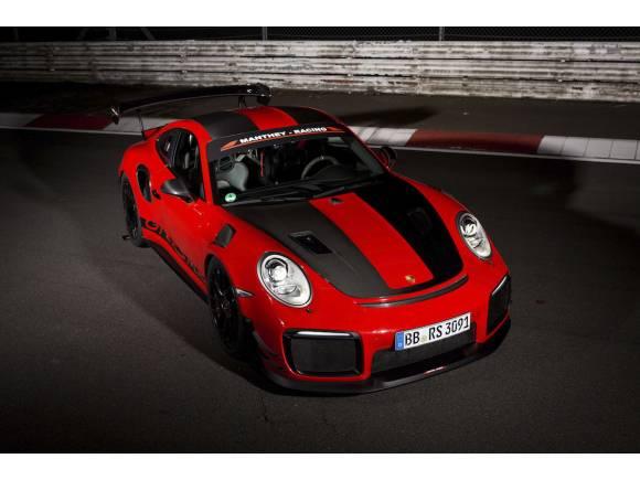 Porsche 911 GT2 RS MR, nuevo récord en Nürburgring