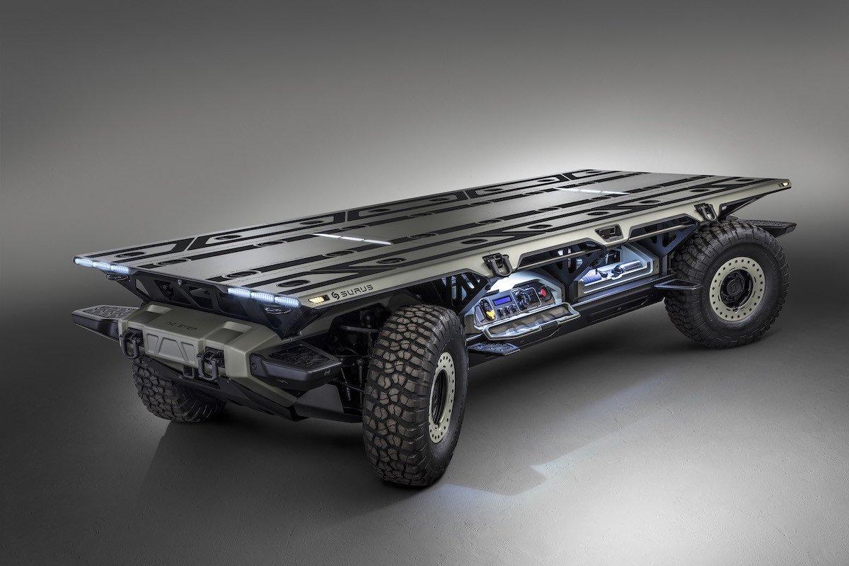 SURUS, camión autónomo eléctrico