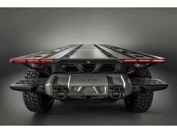 SURUS, el camión 4x4 sin emisiones ni conductor