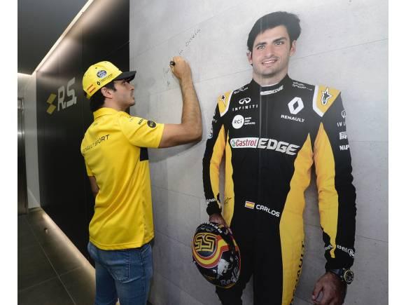 Carlos Sainz entregado a Renault para brillar en España