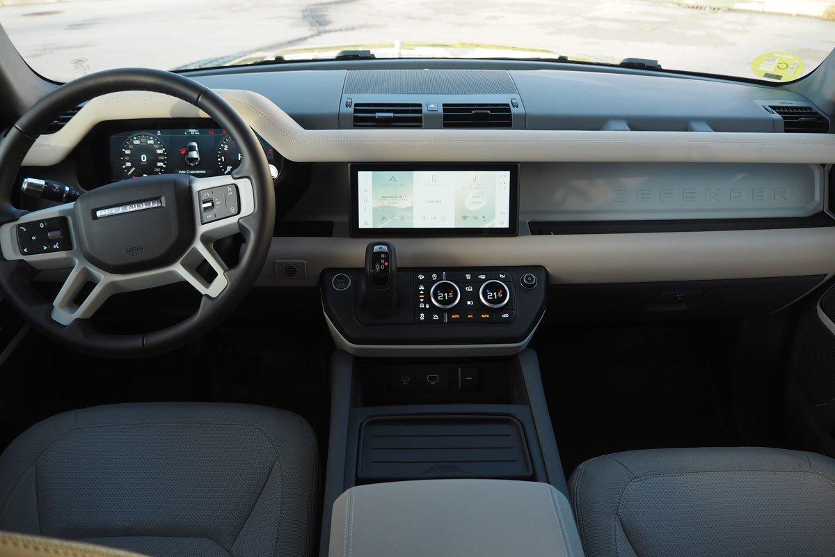 Prueba Land Rover Defender
