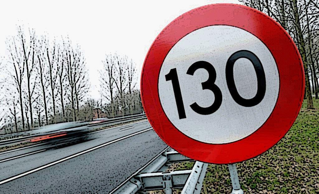 limite 130 km/h