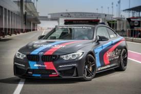 El BMW M4 MotoGP Safety Car estrena la inyección de agua
