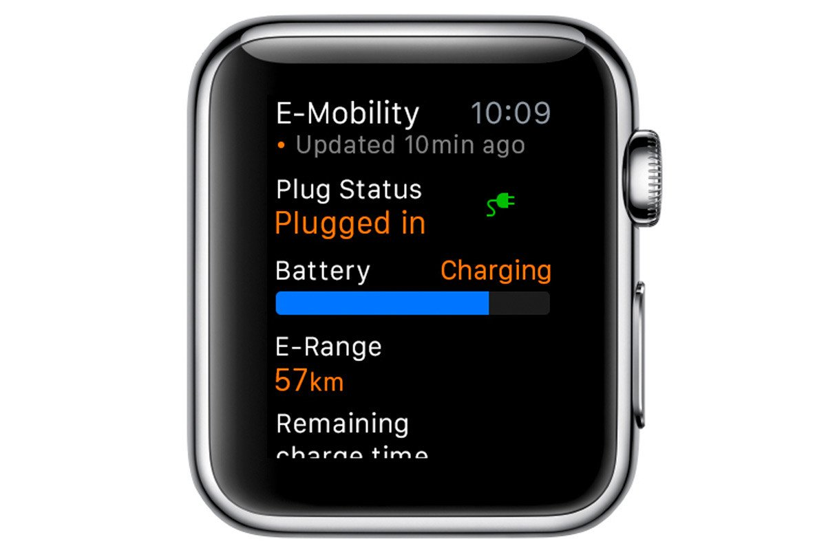 Porsche Car Connect Apple Watch