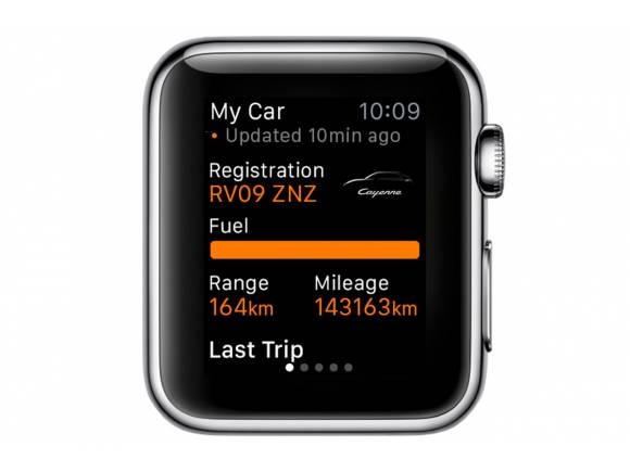 Porsche Car Connect ya tiene aplicación para Apple Watch