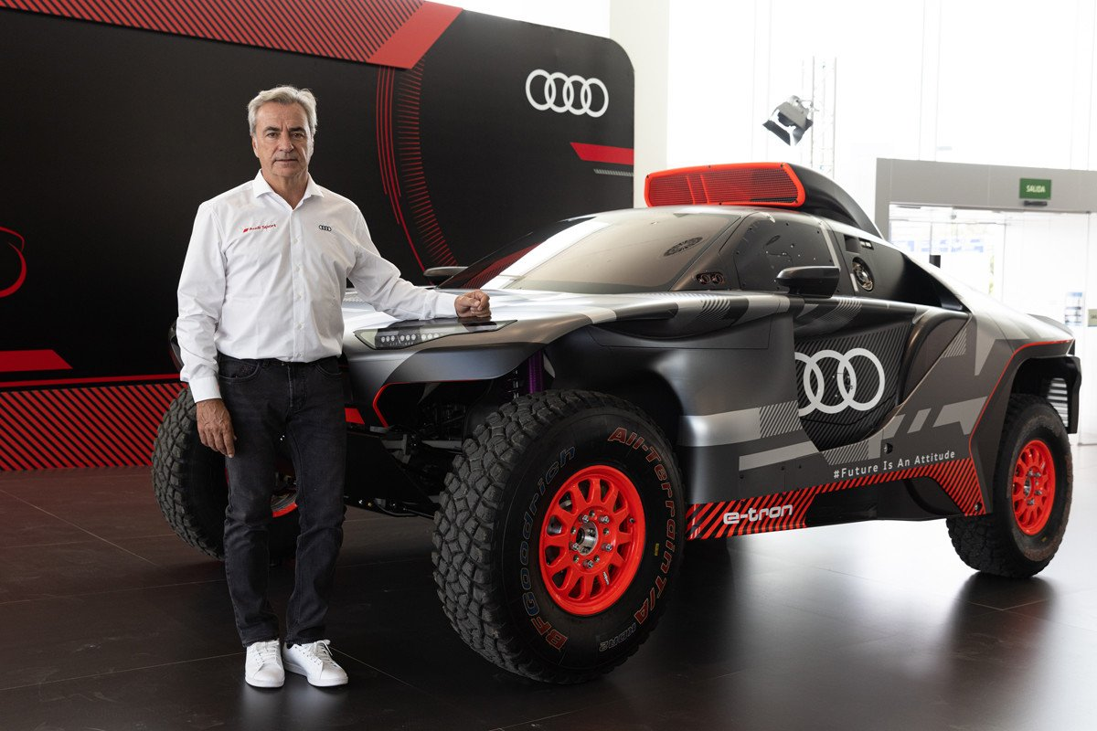 Carlos Sainz Audi RS q e-tron