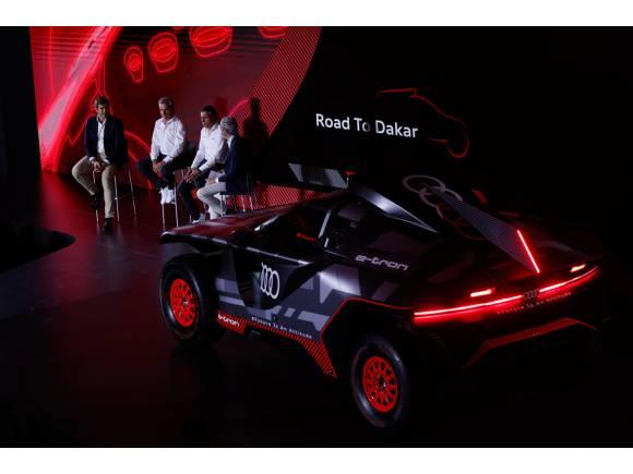Carlos Sainz presenta el Audi RS Q e-tron en España