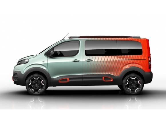 Hyphen Concept, el Citroën SpaceTourer más cañero