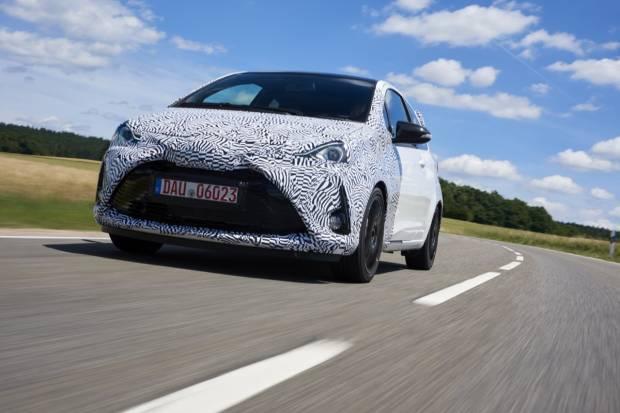 El Toyota Yaris más rácing se pone a punto en Nürburgring