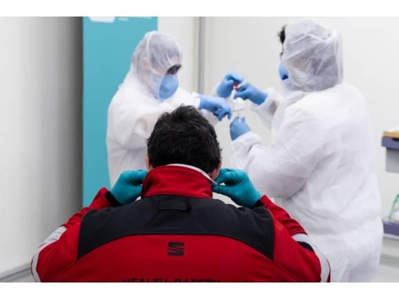 Seat contra el COVID-19: 4.500 test diarios para luchar contra el coronavirus