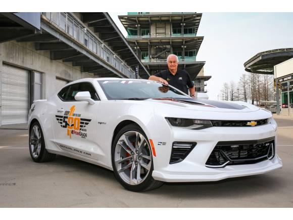 Camaro 50 Anniversary para comandar las 500 Millas de Indianápolis