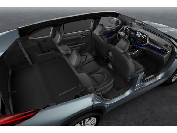 Toyota Highlander: llega un nuevo SUV a la gama híbrida de Toyota