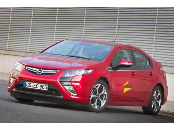Opel participa en el proyecto iZEUS con el Ampera y el Meriva