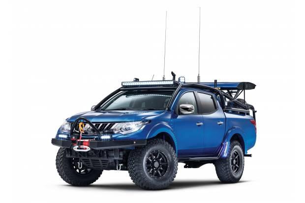 Mitsubishi L200 Desert Warrior: rey del desierto