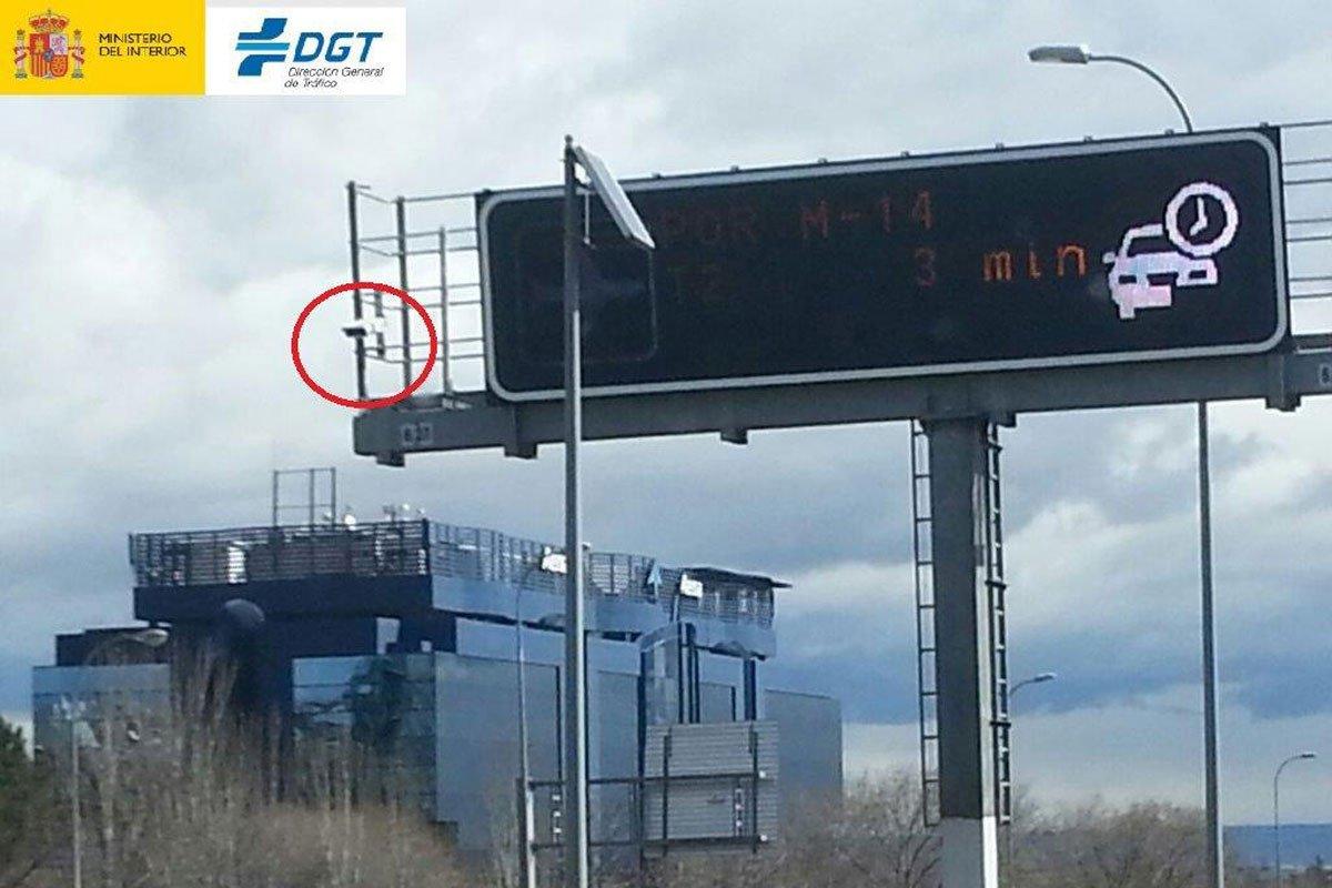 Radar detecta cinturon