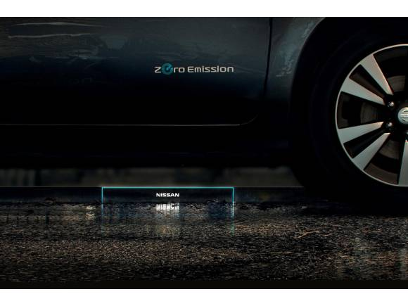 Nissan presenta la gasolinera del futuro