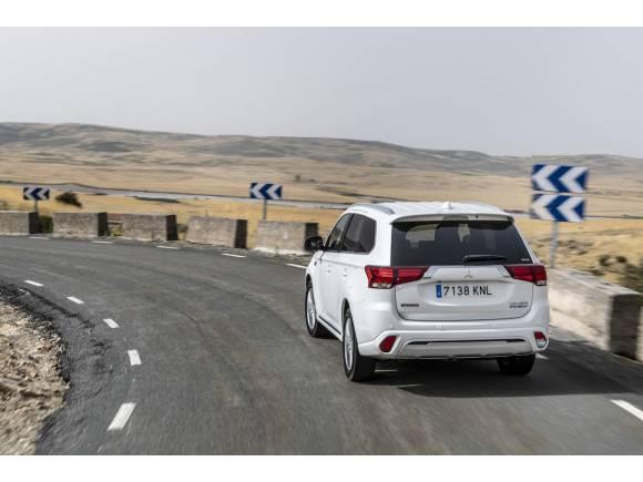 Prueba Mitsubishi Outlander PHEV 2019, más eléctrico