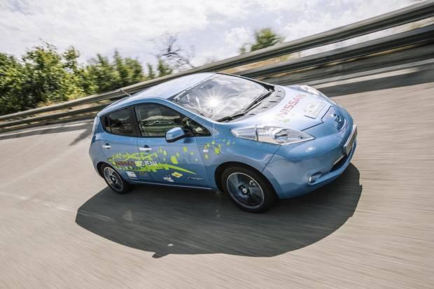 Nissan Leaf con 400 km de autonomía, pero sin asientos traseros